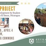 Kellan Morgan, one of the founders and directors of the Enlace Project, will speak about the project today at 4:45 p.m. in Corning Room of the Dahlstrom Student Center. The Enlace Project is a non-for-profit organization in El Sauce Nicaragua that creates sustainable programs and projects, and builds intercultural understanding. #KeukaCollege #EnlaceProject #QKA #FLX 🐺 🔧🔨📝